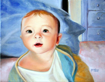 Portrait of Baby Miles
