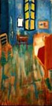 Reproduction of Bedroom at Arles, Oil, 10x20